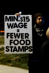 Low Wages = food stamps