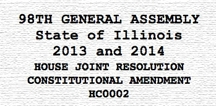 House Joint Resolution Constitutional Amendment HC0002