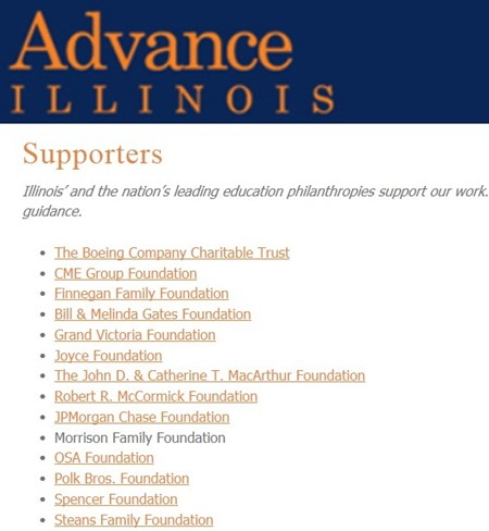 Advance IL corporate donors